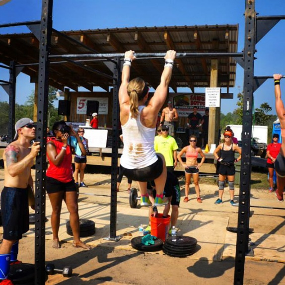 My first CrossFit competition.