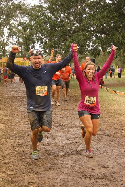 Ryan & I at the Tough Mudder finish line.