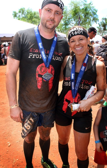 Ryan & I right after finishing a Spartan Super in May. We ran back-to-back races that weekend!