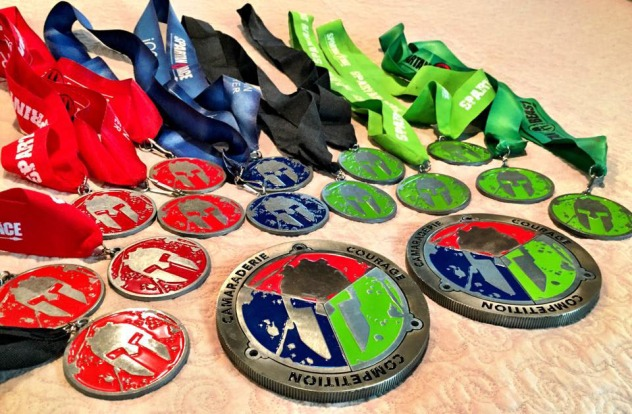 After 3 years, our Spartan Trifecta is complete.